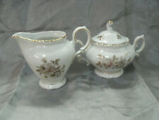 Winterling Bavaria EMPRESS Gold Maria Theresia 8 oz Creamer & Sugar Bowl w/Lid