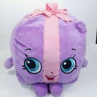 Shopkins Miss Pressy Stuffed Animal Plush Present Purple Pink Large Pillow Giant