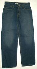 MENS LEVIS SILVERTAB - LOW AND LOOSE - BLUE JEANS - 33x31 measured size - EUC!!