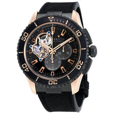 Zenith Stratos Spindrift Carbon Fiber Dial Chronograph Mens Watch