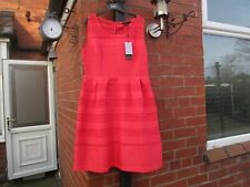 Coast Angelette Dress Size 16 Lipstick Red RRP @ £125