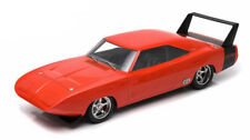 Greenlight 1969 Dodge Charger Daytona Custom - Red with Black Rear Wing 1/18