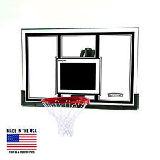 Lifetime Backboard and Rim Basketball Combo Shatterproof 54 Inch Steel-Framed