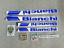 Kit adesivi compatibili Bianchi rekord 848  old decal