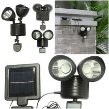 Motion Sensor Solar Powered Led Light Waterproof Outdoor Lamp Security Garden