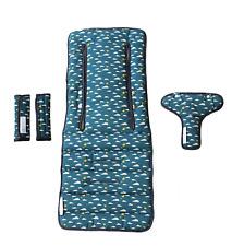 Keep Me Cosy™ Pram Liner set, Universal, 100% Cotton fabric – Playful Plane