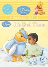 NEW PACK  WINNIE the POOH  CLOTH book IT'S BED TIME