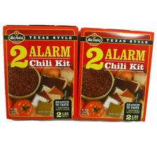 Wick Fowlers Texas Style 2 Alarm Chili Kit  3.625 oz 2 pack