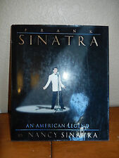 Frank Sinatra An American Legend by Nancy Sinatra hardcover with CD