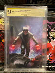 RETURN OF WOLVERINE #1 CBCS SS 9.8 NYCC VARIANT INHYUK LEE only 250 copies