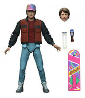 "Marty McFly 7"" Back To The Future 2 Action Figure Ultimate Scale Michael J Fox"