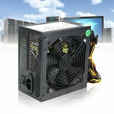 1000-Watt Active PFC 80+ Efficient 2-PCIE LED Fan Gaming ATX 12V PC Power Supply