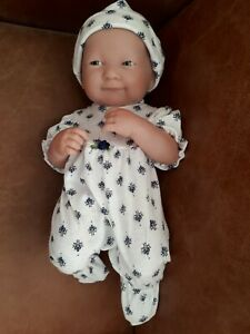 Hand made  dolls clothes for 12-14 inch baby gro +hat  NO DOLL