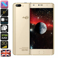 "AllCall Rio 5.0"" GOLD HD Quad-core Android 7.0 Dual Camera Smart Mobile Phone"