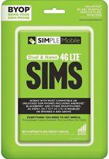 TracFone Simple Mobile GSM Sim Bundle N Airtime (IL/PL2-15089-SMPBYOPGSVNA-NIB)