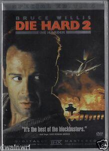 Die Hard 2, Die Harder (DVD, 2-Disc)  THX Mastered - Bruce Willis