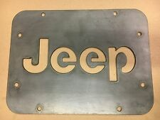 Jeep Wrangler JK Tailgate Spare Tire Delete Plate 2007-2016 Jeep, Made in USA