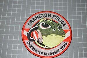 Cranston Rhode Island Police Underwater Recovery Team Patch (B17-S)