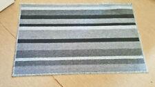 Door Mat Machine washable Non Slip Kitchen Bathroom Floor Rug 40X60cm Grey Black
