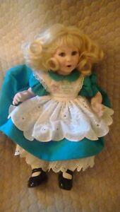 "Disney 10th Anniversary Marie Osmond Porcelain 16"" Alice in Wonderland Doll #392"