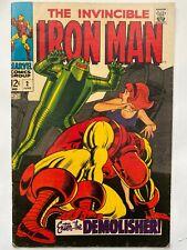 The Invincible Iron Man #2 Enter The Demolisher! Marvel Comics