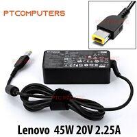 Original 45W AC Adapter Charger for LENOVO ThinkPad YOGA 11e (Rectangle Plug)