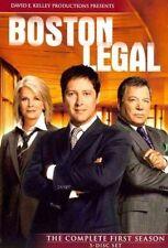 Boston Legal TV Series Complete Season 1 DVD William Shatner James Spader