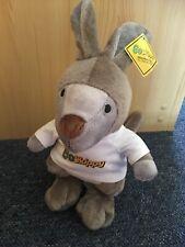 Skippy The Bush Kangaroo Soft Plush Toy Go Skippy Insurance - NEW WITH TAGS