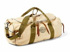 $395 RRL Ralph Lauren 1930s Inspired Benning Sporting Canvas Suede Duffle Bag
