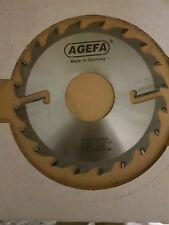AGEFA made bei AKE HM Kreissägeblatt 8 Stück 190×2,4/1,6×60mm Z=20+2 wischer