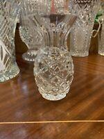 Art Deco - 1930's Crystal Pineapple Vase