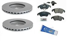 For Audi A4 A4 Q A5 Q Q5 Brake Kit Front Zimmermann Rotors Bosch Pads Lubricant