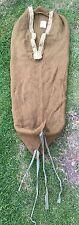 Vintage WW1 WWII US Army USMC Wool Mummy Sleeping Bag Military Field Gear
