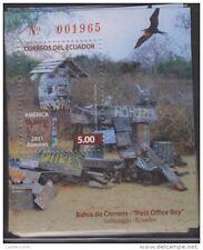 RO)2011 ECUADOR, AMERICA UPAEP, MAILBOX, POST OFFICE BAY, GALAPAGOS POST OFFICE