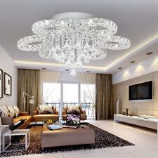 LED Deckenlampe 88W Kristall Kronleuchter Hängeleuchte Lüster Pendelleuchte Weiß