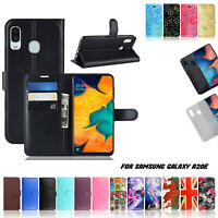 For Samsung Galaxy A20E A21 A41 A71 Phone Case Leather Wallet Book Stand Cover