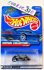 2000 Hot Wheels VIRTUAL COLLECTION #151 ∞ GO KART ∞ PURPLE 5H