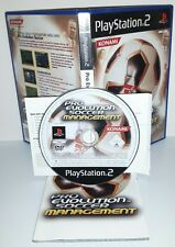 PRO EVOLUTION SOCCER MANAGEMENT PES - Ps2 Playstation Play Station 2 Gioco Game