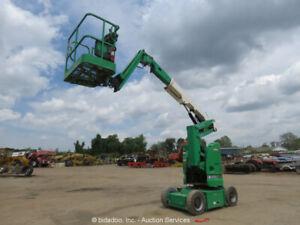 2012 JLG E300AJP 30' Electric Articulating Boom Lift Man Aerial Jib bidadoo
