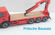 1:87 EM205 Pritsche für Herpa 4achs Chassis BAUSATZ für Eigenbau Umbau