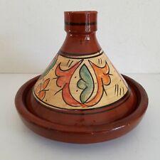 Plat a tajine tagine Marocain c2 cuisson terre cuite émaillé 30cm 5/6 personnes