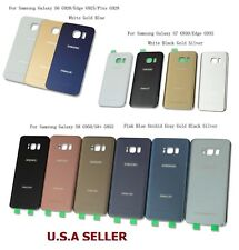 Battery Cover Back Glass Door For Samsung Galaxy S6 S7 Edge S8 S9 + Note 5 & 8
