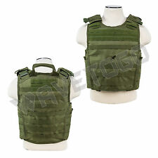 VISM NcSTAR SWAT Tactical Armor 2XL+ MOLLE Expert Plate Carrier Body Vest Green