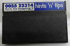 SEGA MASTER SYSTEM GAME - SONIC THE HEDGEHOG 2 - GAME ONLY