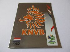 Sticker PANINI Fifa World Cup GERMANY 2006 N°227 Logo Écusson Netherlands