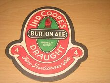 VINTAGE IND COOPE'S BEER MAT / No 4 IN SERIES - BURTON ALE --