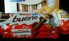 KINDER JOY MILK CHOCOLATE EGG & 5 x Happy Hippo +6 Bueno Bars From  Ferrero UK !