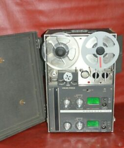 Vintage Roberts 770 Reel to Reel Tape Recorder Model Akai M-7 Power Tested Works