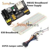 Protoboard 830 Tie MB-102 Solderless Breadboard Points 2 buses Test Circuit