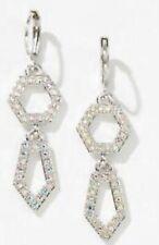 Touchstone Crystal by Swarovski Poly earrings 1555E Bnib